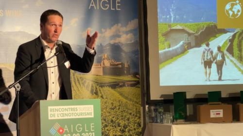 Prix suisse de l'Oenotourisme - 03.09.2021 Château d'Aigle