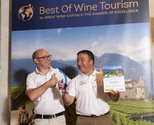 Wines & Boat - Léman Dégustation (Jacques Desbruyères et Loïk Tavernier) - Grand Prix suisse de l'Oenotourisme - Best of Wine Tourism 2021