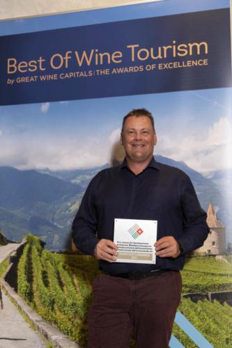 Adrian & Diego Mathier Nouveau Salquenen AG (Diego Mathier) - Best of Wine Tourism catégorie Services & Organisation
