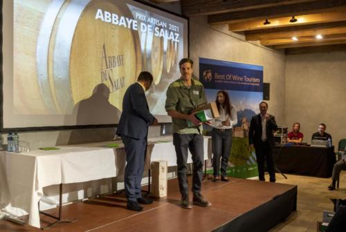 Prix suisse de l'oenotourisme - 03.09.2021 - Château d'Aigle